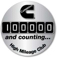 100000 and counting... High Mileage Badge